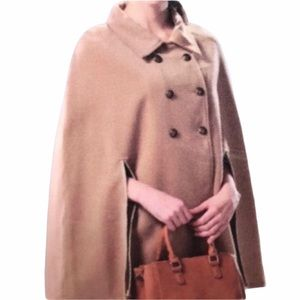 Vintage Charlie Paige Poncho Coat Size Small Med